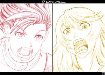 17 days... by Mutenroushi