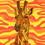 paint pour giraffe