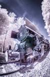 Train Touristique a vapeur infrarouge by jeje62