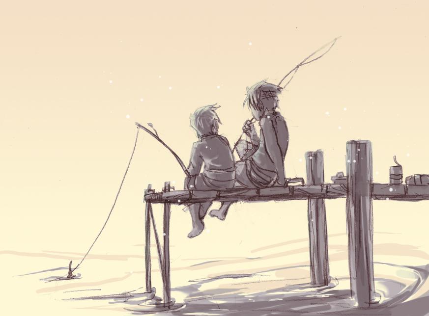 Gone Fishing by Serain