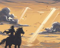 SotC: Wander and the Phalanx by Serain