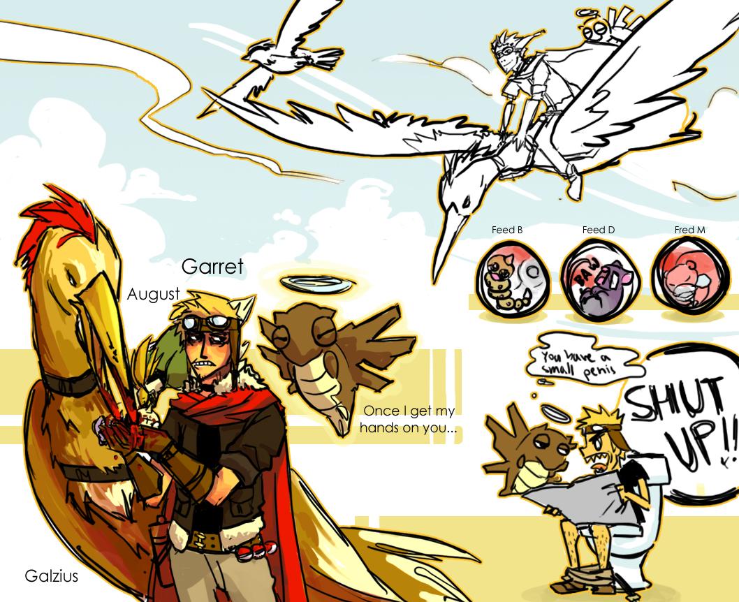 Pokemon Team by Serain