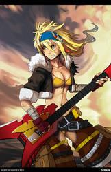 Rocker Rikku by Serain