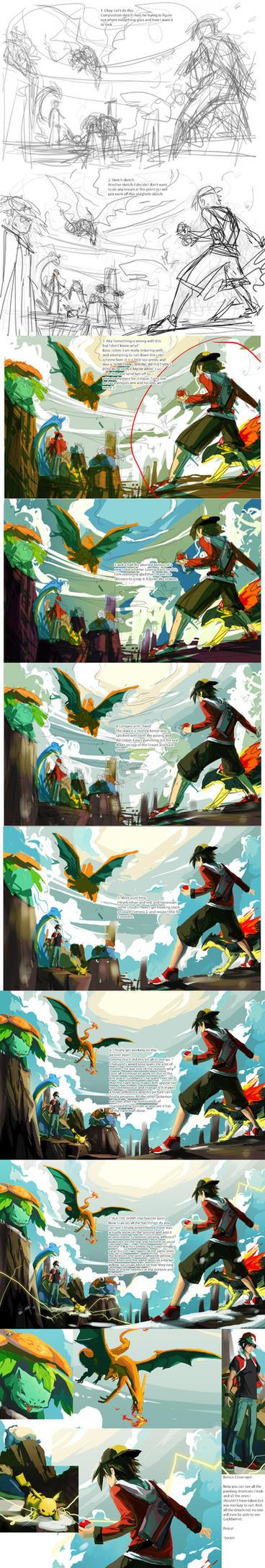 Battle on Mt. Silver Making Of by Serain