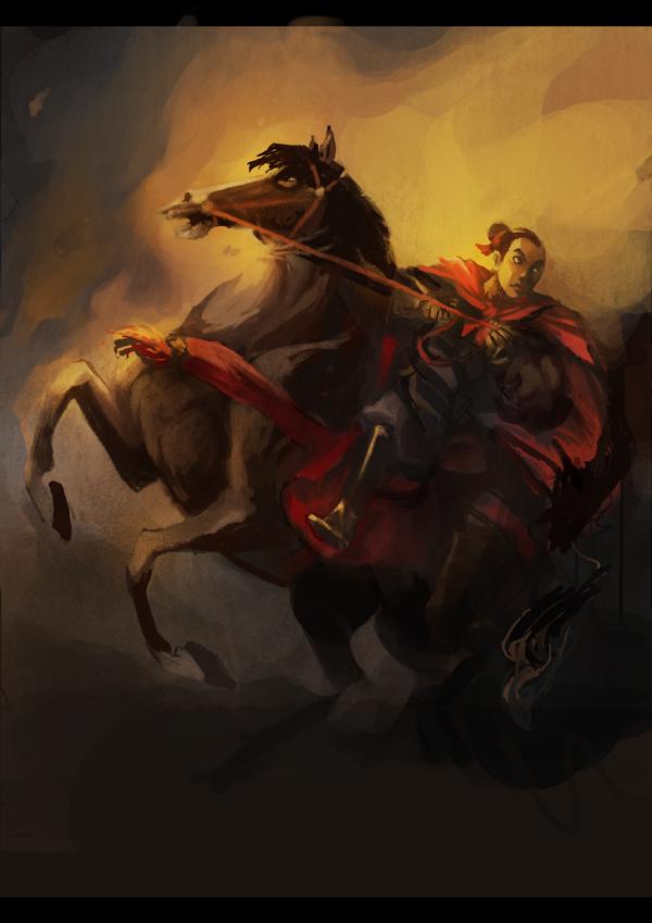 Mulan Coloring Page by Serain