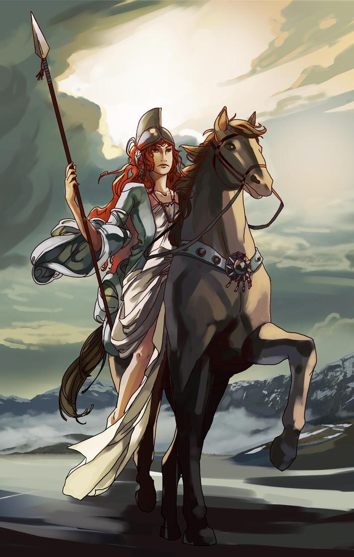 Boudica by Serain