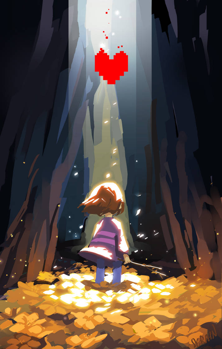 The fallen child