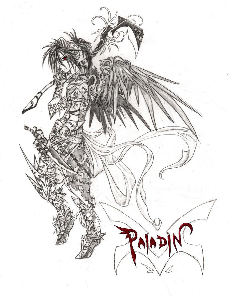 MapleStory Paladin by Serain