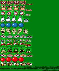 Giana's Return - Enemies sprites by Yukkurifan64