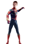 Peter Parker/Iron-Spider: IW/Endgame PNG