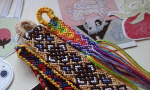 Friendship bracelet for the beloved