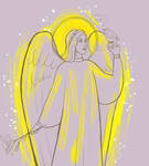 Angel and nightingale