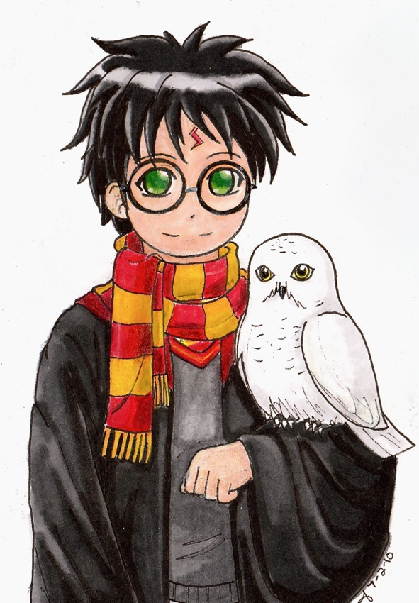 Harry and Hedwig by A-A-Fresca