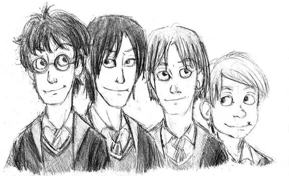 The Marauders - Doodle -