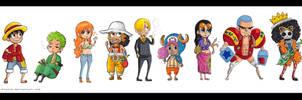 Straw Hat Pirates - 3D2Y by batteryfish