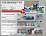 How to make a one-part mold