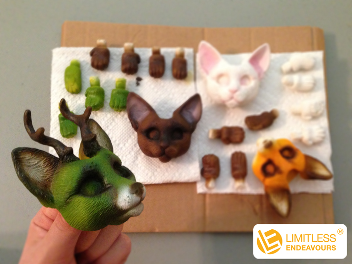 DIY-Doll Kits by LimitlessEndeavours