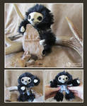 Skeleton Mini Sloth