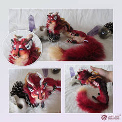 OOAK Fox Dragon Commission by LimitlessEndeavours