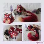 OOAK Fox Dragon Commission