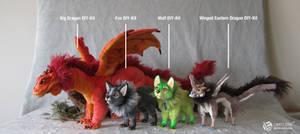 Art Doll DIY-Kit Size Comparison