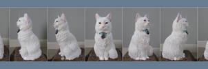 Commissioned Cat Urn TURNAROUND