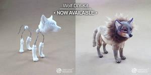 Wolf DIY-Kit