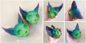 Aura Cat Skulls