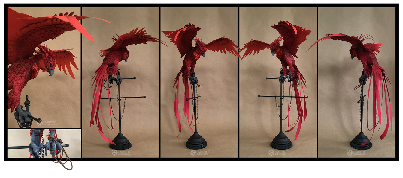 Paper Phoenix by LimitlessEndeavours