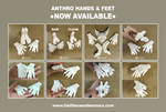 Anthro Hands n Feet AVAILABLE NOW