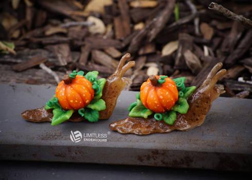 Pumpkin Garden Snails