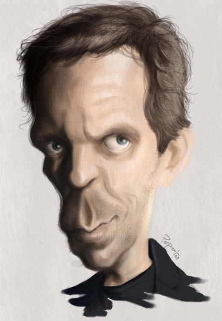 Dr Gregory House, Hugh Laurie by Parpa