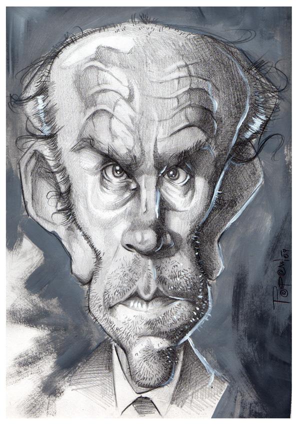 John Malkovich by Parpa