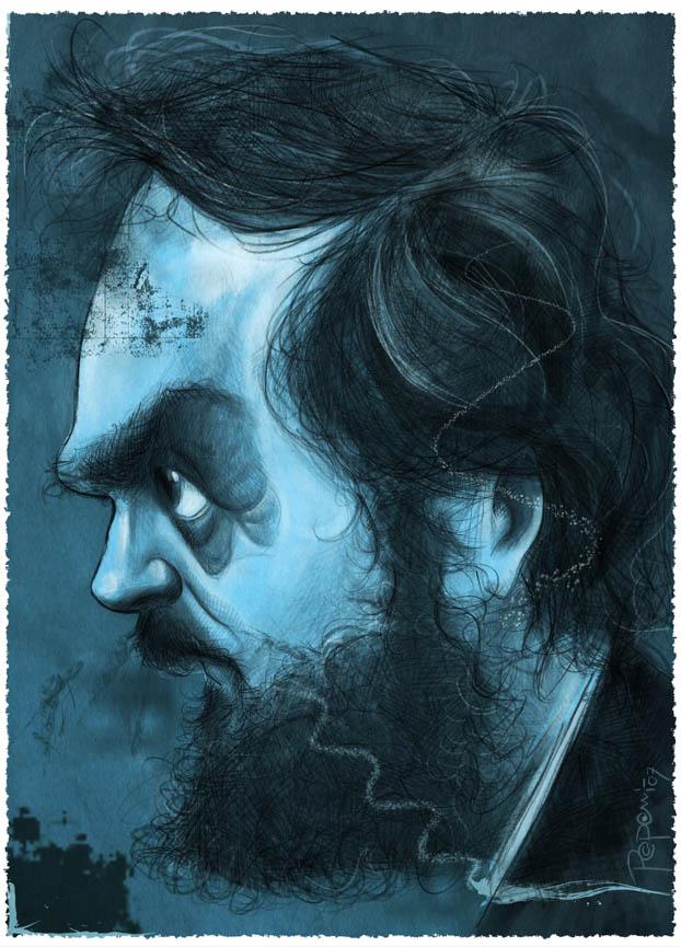 Stanley Kubrick by Parpa