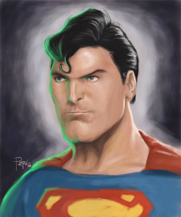 Superman - Christopher Reeves by Parpa