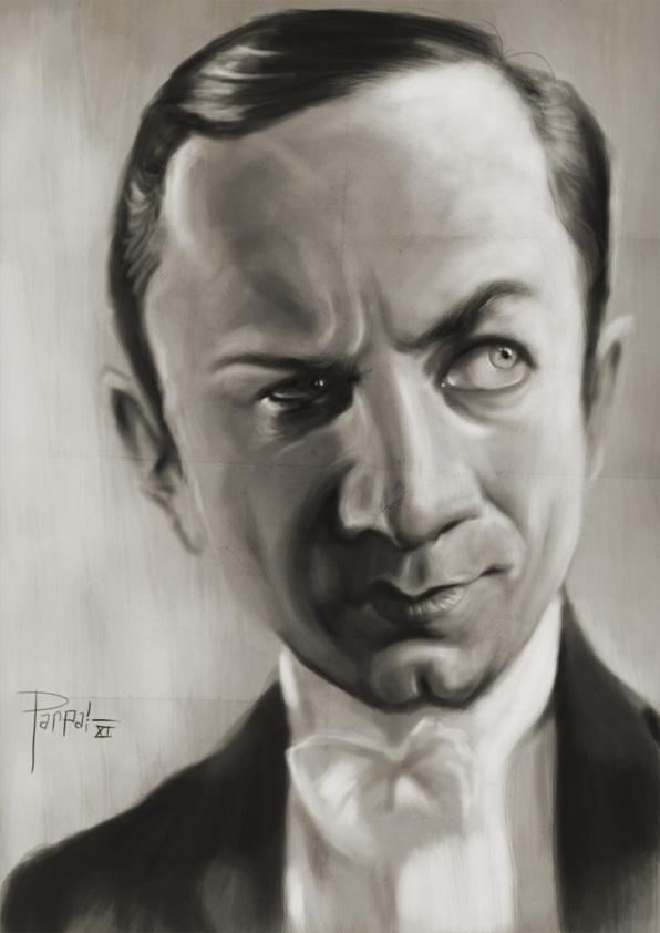 Bela Lugosi by Parpa