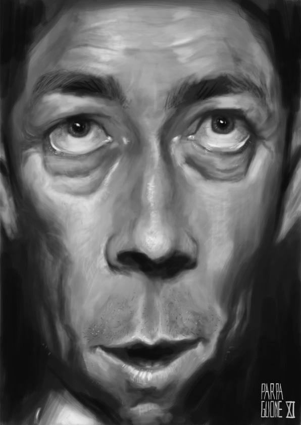 Albert Camus by Parpa