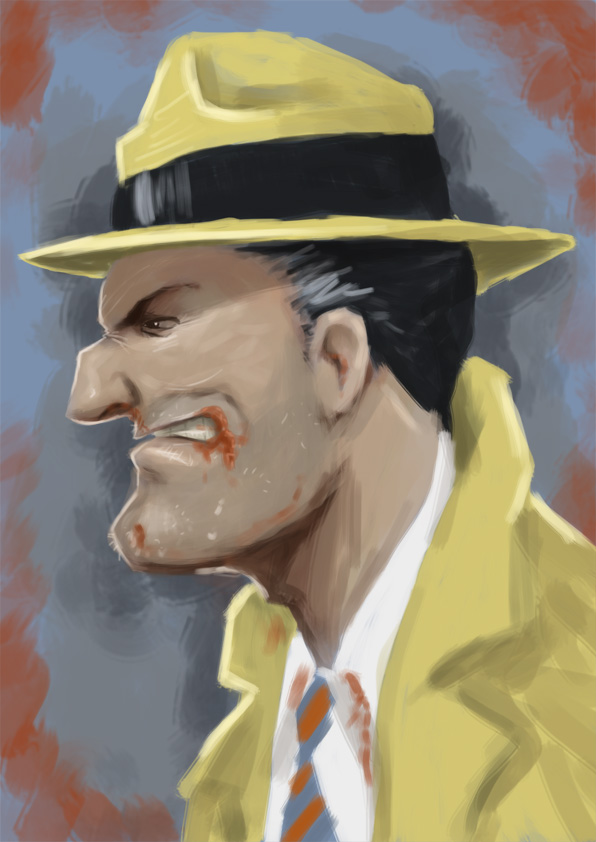 dick tracy by Parpa