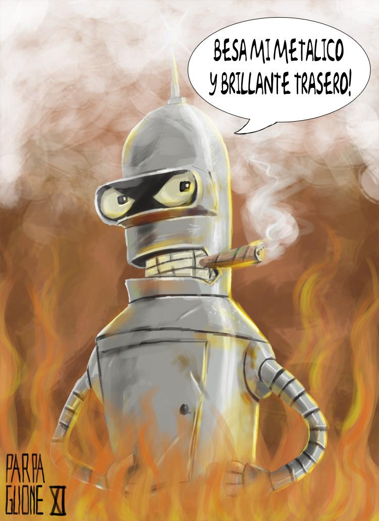 Bender Doblador Rodriguez by Parpa