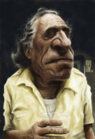 Charles Bukowski by Parpa