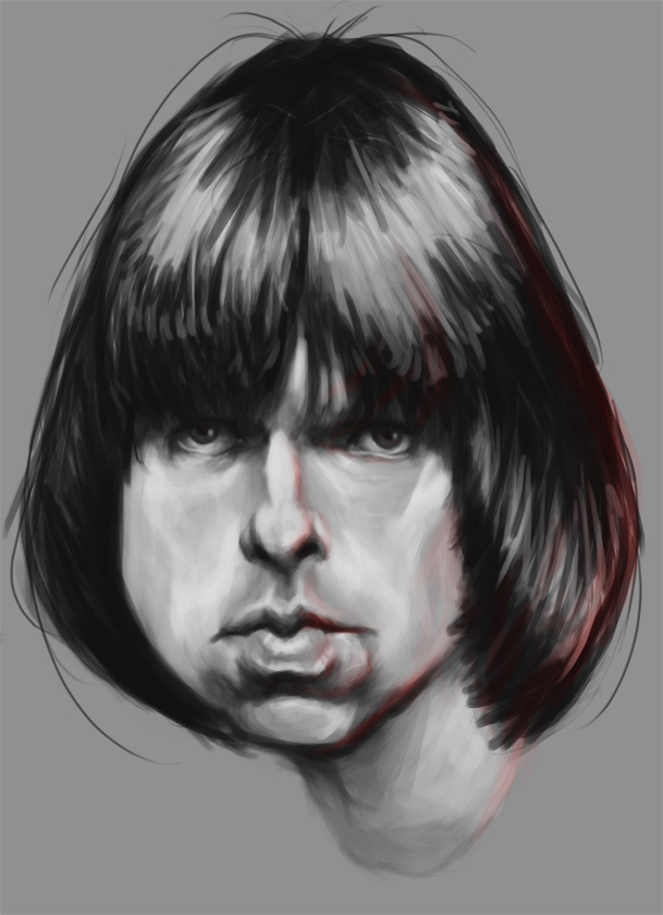 Johnny Ramone by Parpa