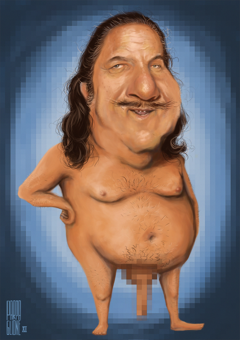 Ron Jeremy by Parpa