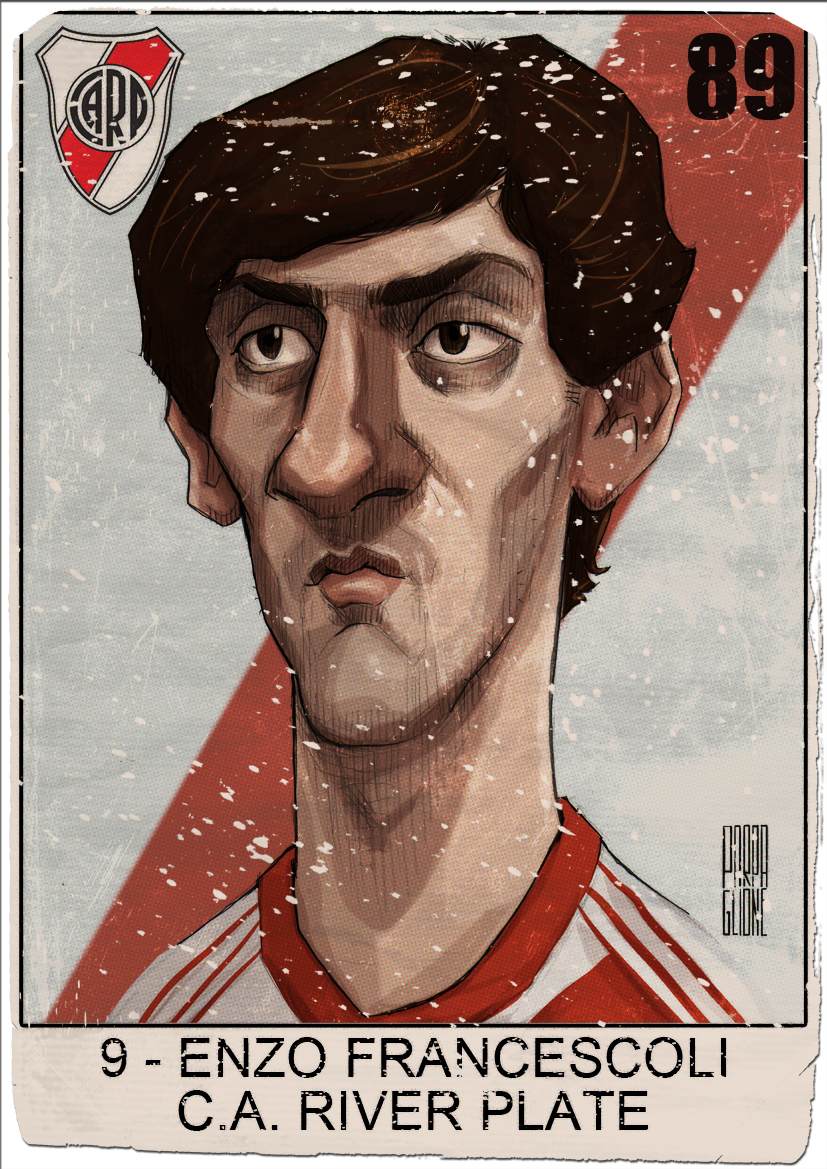 Enzo Francescoli by Parpa on DeviantArt