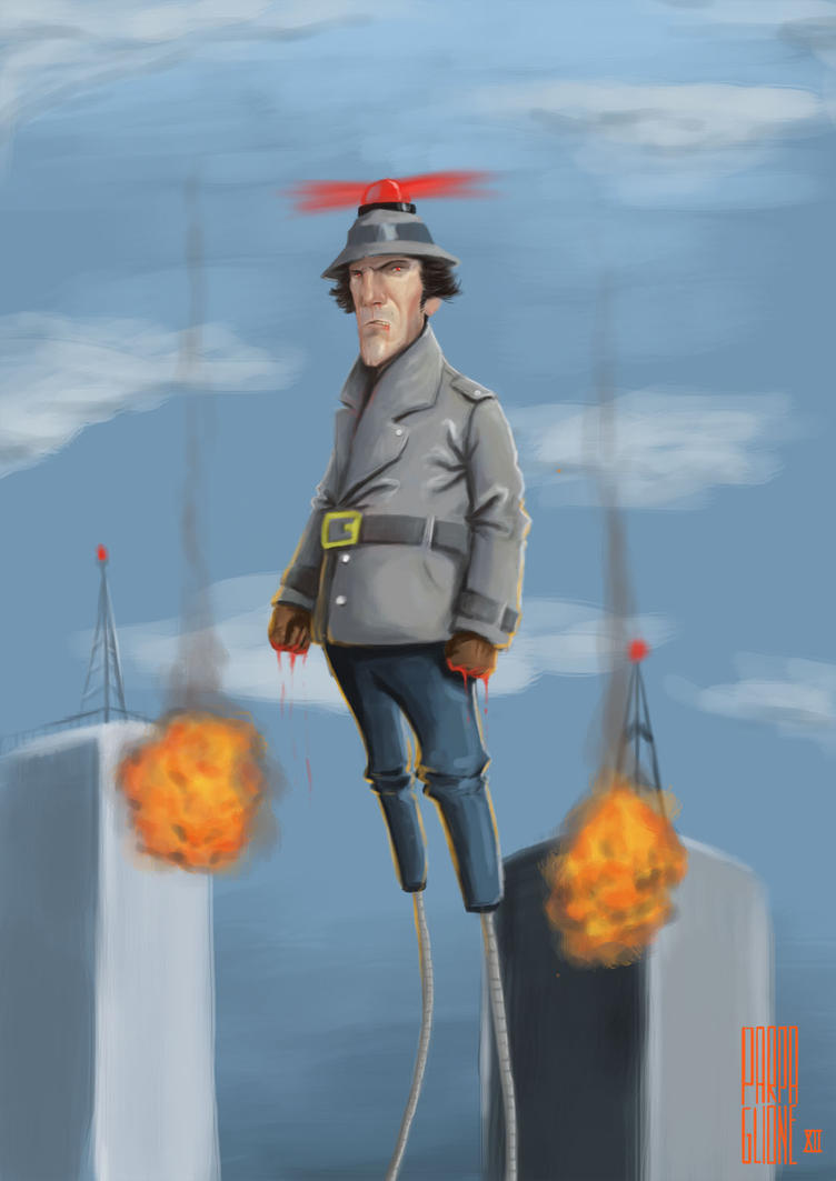 Inspector Gadget by Parpa