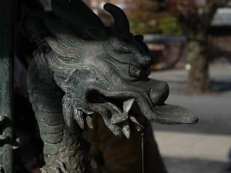 The Dragon Fountain by yume-ryuu