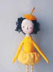 yellow girl by da-bu-di-bu-da