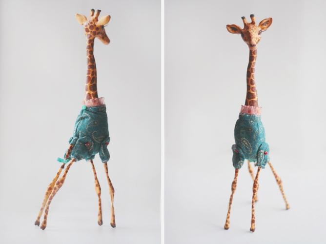 giraffe double ii by da-bu-di-bu-da