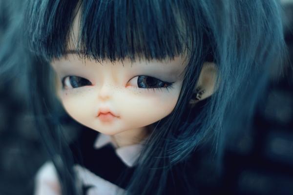 hujoo has blue hair ii by da-bu-di-bu-da