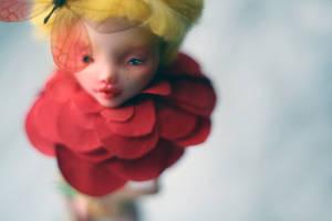 red flower by da-bu-di-bu-da