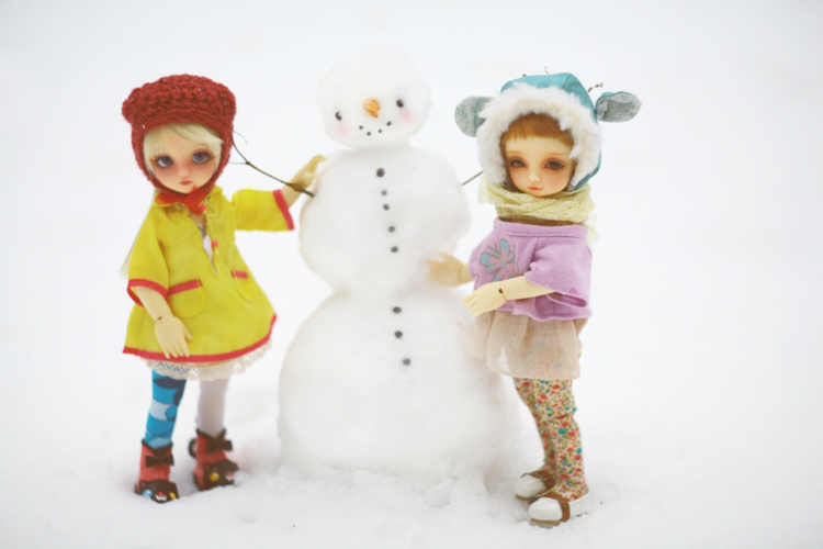 snowman by da-bu-di-bu-da